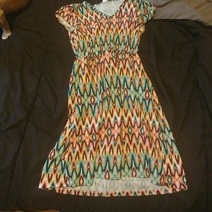 Honey and lace los oso dress xs